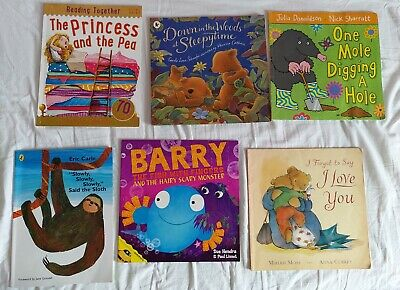 Children books bundle (6 pcs)