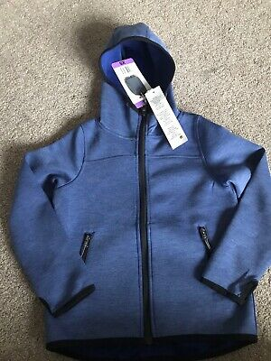 Girls 32 Degrees Cool Blue Jacket Zip Up Xs Age 5-6 Years