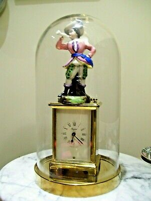 A Gold Plated Antique ''Bayard'' 8 Days ClockPerfect & Accurate Clock