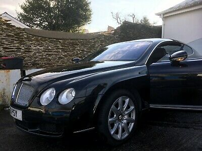 Bentley continental GT 2004 Diamond Black