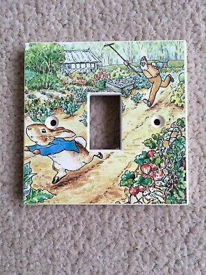 Beatrix Potter Peter Rabbit Lightswitch Cover