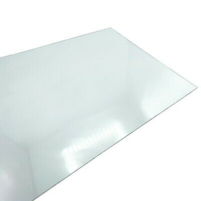 CLEAR PETG SHEET THIN 0.5mm PLASTIC PANEL VISOR FACE SHIELD DOLLS HOUSE PERSPEX