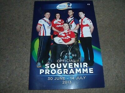 2013 Festival Of World Cups Rugby League Women Wheelchair Police Student Forces