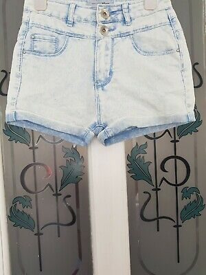 ♡♡♡ New Look 915 Generation Girls Denim Shorts♡♡ Age 12 Years Old