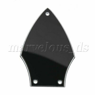 Black Gretsch truss rod cover from G5420T Electromatic with protective plastic