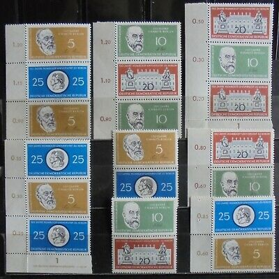 GERMANY (East) DDR 1959-60 Together Prints Collection of 16 MNH