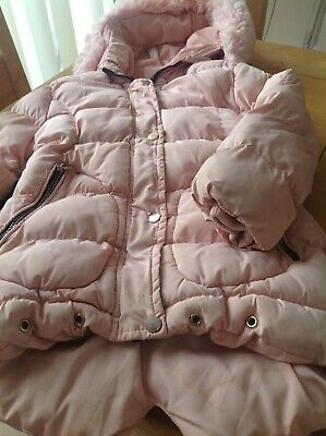 Girls Pink Quilted Coat Age 6 From Happy Star GET IT NOW !