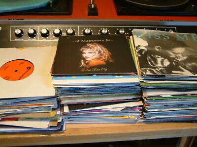 "JOBLOT RECORDS 70's & 80's SINGLES - 7"" VINYL - RECORD COLLECTION"