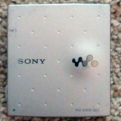 Sony MZ-E909 MD MiniDisc Personal Portable Player Silver