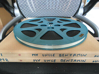 16mm full feature MY UNCLE BENJAMIN (1969) Jacques Brel, Claude Jade comedy Agfa
