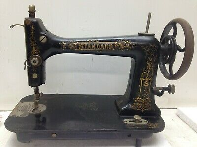 Antique Standard 1880's Treadle Sewing Machine Head Only