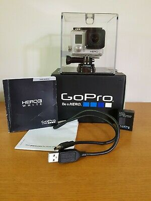 Gopro Hero 3 with Waterproof Case Excellent Condition