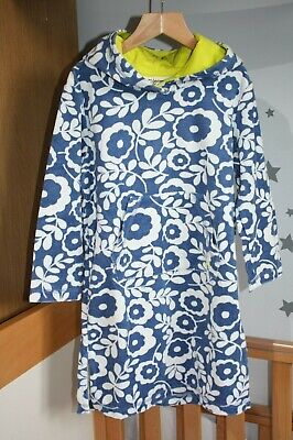 BN Boden Towelling Beach Dress Floral 4-5 years