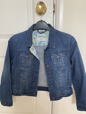 Boden Girls Denim Jacket Age 9-10