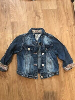 Next Girls Denim Jacket 2-3