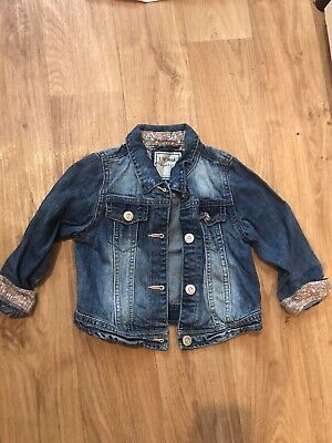 Next Girls Denim Jacket 4-5