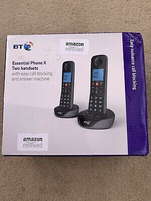 BT Essential Phone X Two Handsets  090650