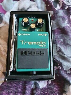 BOSS Tremolo pedal NO RESERVE