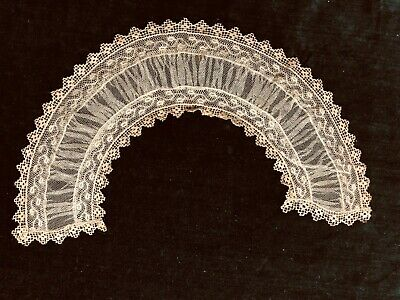 Antique Lace & Net Hand Sewn Collar
