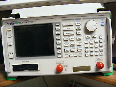 Anritsu spectrum analyser with tracking generator option