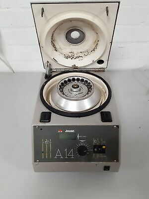 Jouan A14 Benchtop Centrifuge + 20-Tube Rotor 14,000 rpm Lab