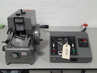 Bright 5030 B3772 Rotary Microtome w/ Motor Controller Lab