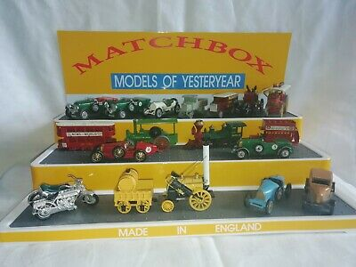 Matchbox Model of Yesteryear, 3 Step Display Unit
