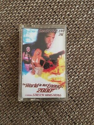 Dj Strech Armstrong -The World is not enough 2000 Mixtape Kassette Tape Hip Hop