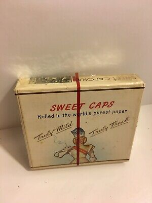 Vintage Sweet Caporal Cigarette Pack (20) Sealed & Canada Tax Stamp Kinney Bros