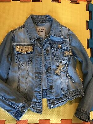 Next Girls Denim Jacket 7-8