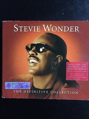 Stevie Wonder The Definitive Collection Used 39 Track Greatest Hits Cd Soul R&B