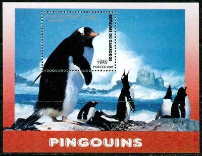 Cambodia -2001 – Penguins– Vf**