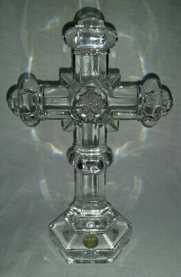 Gorgeous Detailed Crystal Cross Made in Germany