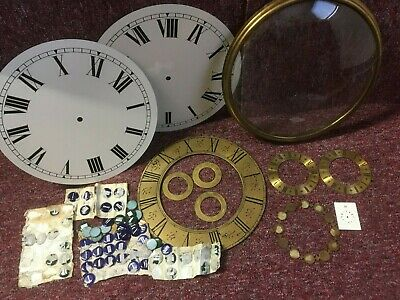 Dials Chapter rings and Dial clock Bezel and glass, 2 white dials + more