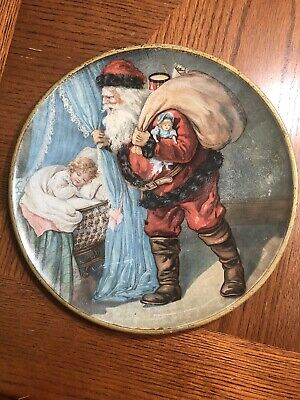 C D Kenny Santa Claus Tray