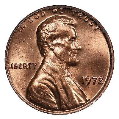 1972 Lincoln Cent- Doubled Die Obverse FS-108 DDO-008 ANACS MS 63 RED