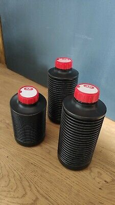 3 AP Collapsible 1l Bottle Film Devoloping Chemical Processing new