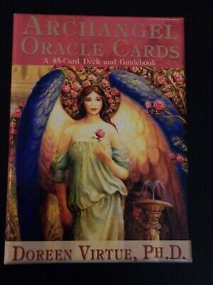 Archangel Oracle Cards Doreen Virtue 45 Card Deck & Guidebook. New Condition