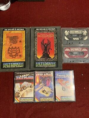 Zx Spectrum ultimate Games Collection