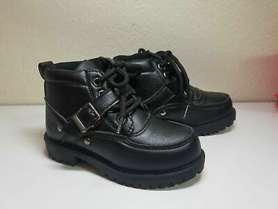 Baby Phat Black Boots Size 10 Child NEW $45
