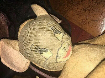 antique vintage cloth doll toy MOUSE ONLY tom & jerry cartoon tv character