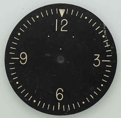 8 day-clock dial , spare or part.