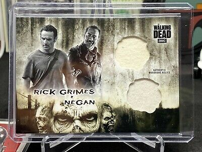 2018 Topps The Walking Dead The Hunters and The Hunted Rick Grimes and Negan...