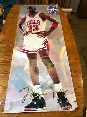 Michael Jordan Life Size 1991 Hang Time Shredded Bubble Gum +1990 Space Frontier