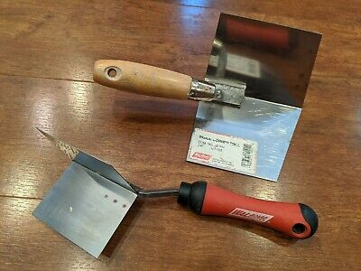 WAL-BOARD Sheetrock Drywall Spackle Putty INSIDE & OUTSIDE CORNER Tool Trowel