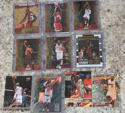 2003 lebron james rookie card lot
