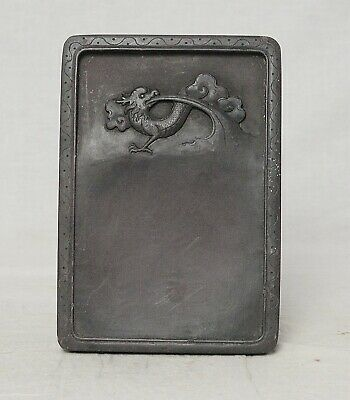 Chinese  Brown  Ink  Stone    M3639