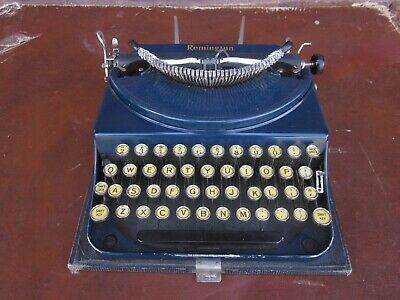 1927 Remington Portable No.2 Typewriter  NA70005 NAVY BLUE