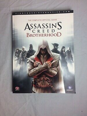 Assassins Creed Brotherhood -The Complete Official Game Guide Xbox 360 PS3