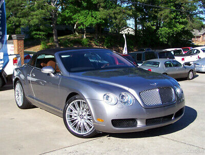 2008 Bentley Continental GT 30K GTC W12 6.0L TWIN TURBO AWD GRANITE OVER SADDLE A PRISTINE CONVERTIBLE EST 206K MSRP NAVI FACT 20S COMP TOO ROLLS ROYCE CORNICHE